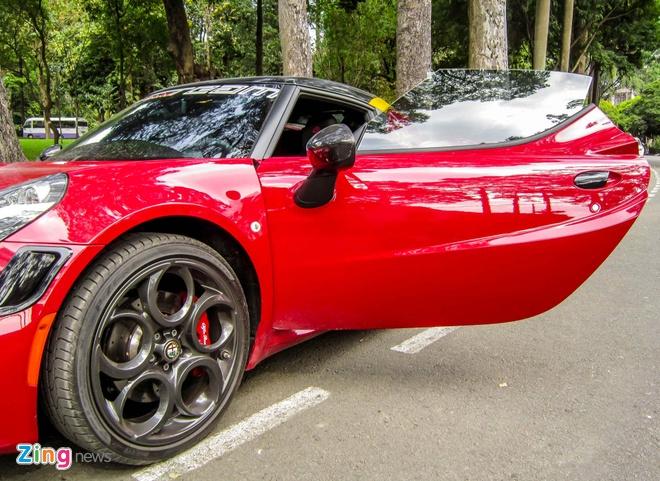 Chi tiet xe la Alfa Romeo 4C tai Sai Gon hinh anh 13