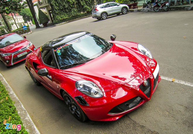 Chi tiet xe la Alfa Romeo 4C tai Sai Gon hinh anh 14