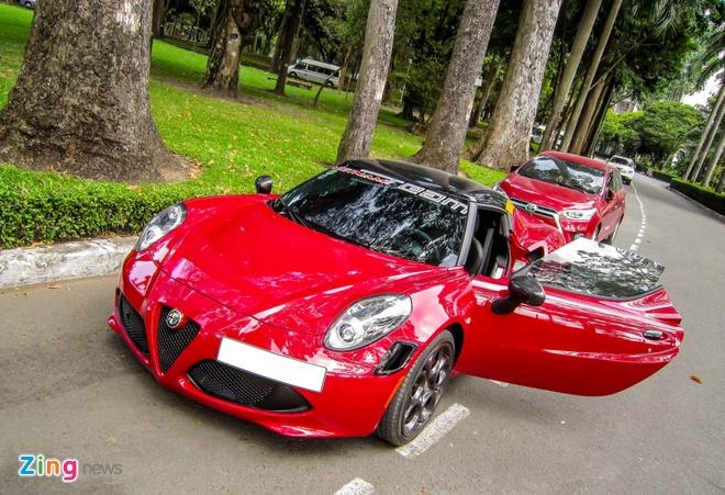Chi tiet xe la Alfa Romeo 4C tai Sai Gon hinh anh 2