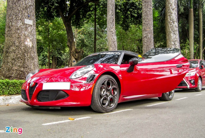 Chi tiet xe la Alfa Romeo 4C tai Sai Gon hinh anh 5