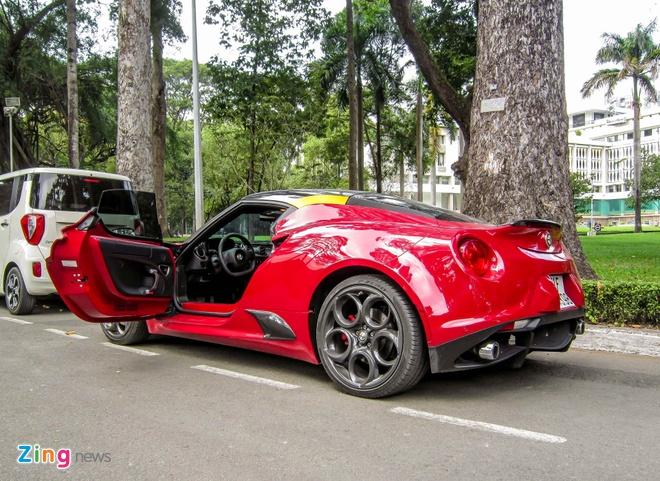 Chi tiet xe la Alfa Romeo 4C tai Sai Gon hinh anh 6