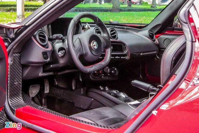 Chi tiet xe la Alfa Romeo 4C tai Sai Gon hinh anh 8