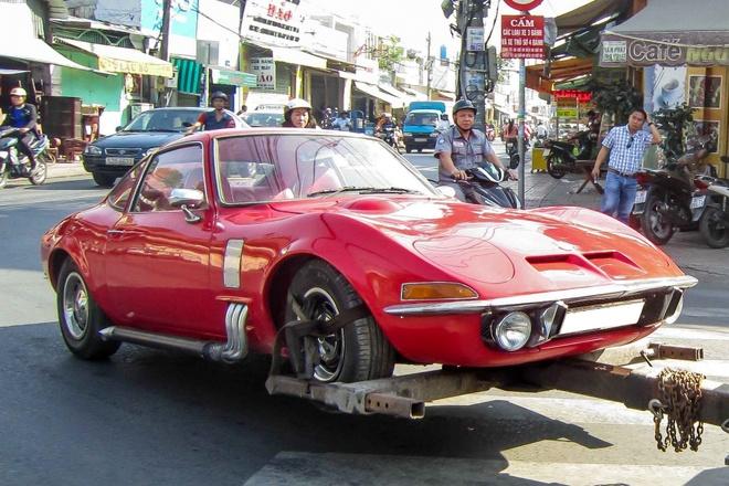 Xe co Opel GT hang hiem xuat hien o Sai Gon hinh anh