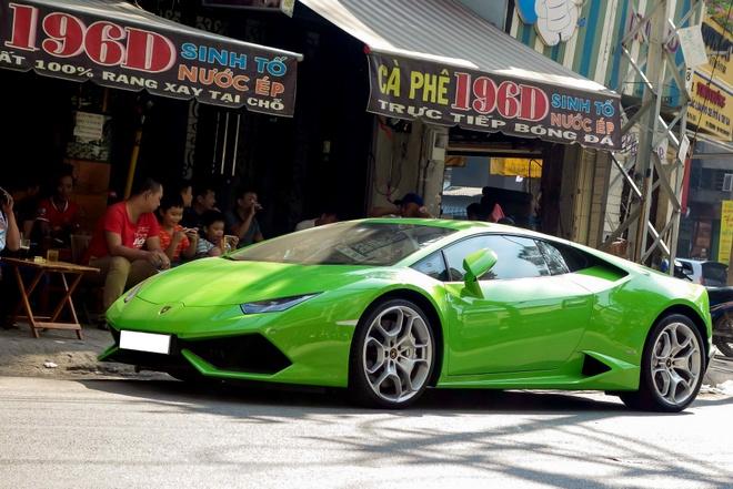 Sieu xe Lamborghini Huracan do ben via he Sai Gon hinh anh 1