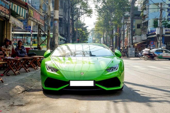 Sieu xe Lamborghini Huracan do ben via he Sai Gon hinh anh 2