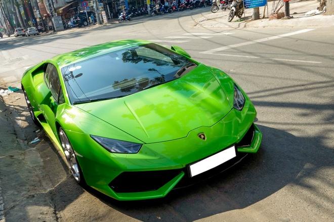 Sieu xe Lamborghini Huracan do ben via he Sai Gon hinh anh 3