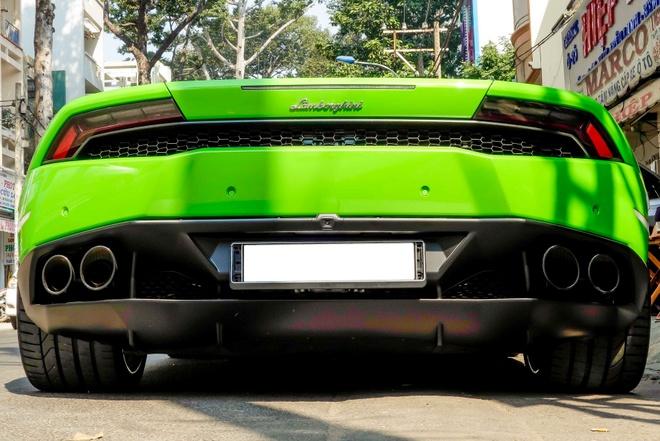 Sieu xe Lamborghini Huracan do ben via he Sai Gon hinh anh 6