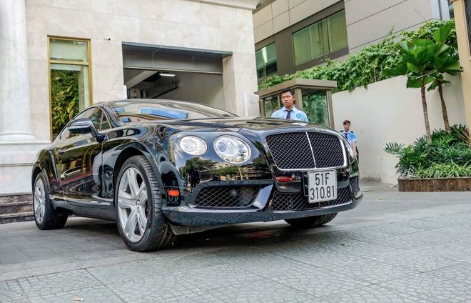 Sieu xe Bentley Continental GT V8 dau tien ra bien o Sai Gon hinh anh 1