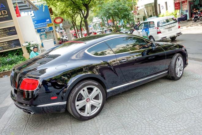 Sieu xe Bentley Continental GT V8 dau tien ra bien o Sai Gon hinh anh 2