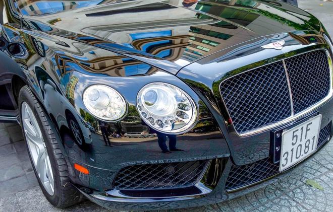 Sieu xe Bentley Continental GT V8 dau tien ra bien o Sai Gon hinh anh 6