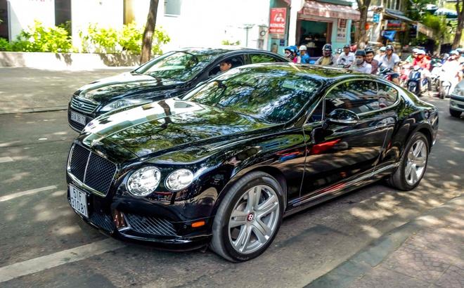 Sieu xe Bentley Continental GT V8 dau tien ra bien o Sai Gon hinh anh 8