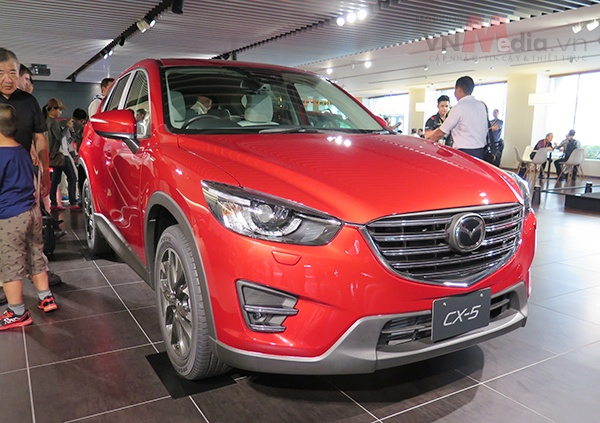 Mazda CX-5 2016 gia tu 1,039 ty dong hinh anh 1