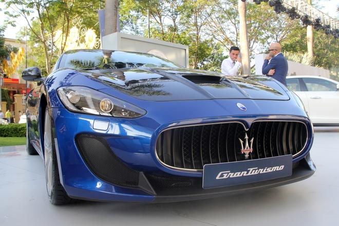 Maserati GranTurismo MC Stradale chinh hang dau tien tai VN hinh anh