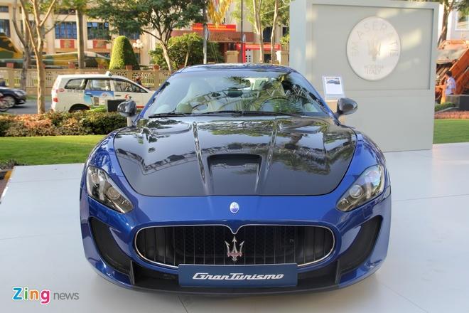 Maserati GranTurismo MC Stradale chinh hang dau tien tai VN hinh anh 1