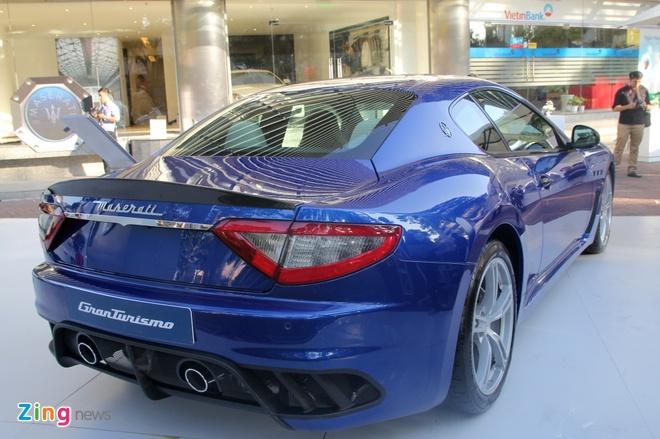 Maserati GranTurismo MC Stradale chinh hang dau tien tai VN hinh anh 3
