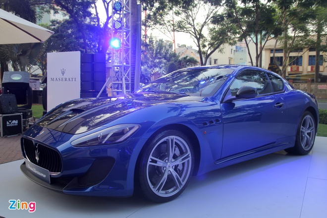 Maserati GranTurismo MC Stradale chinh hang dau tien tai VN hinh anh 4