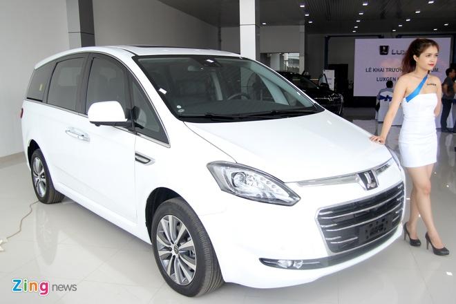Luxgen M7 - doi thu Toyota Innova tai Viet Nam hinh anh 9