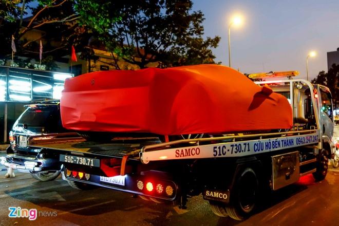 Sieu xe Ferrari 458 Spider dau tien tai Viet Nam hinh anh 1