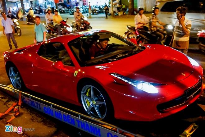 Sieu xe Ferrari 458 Spider dau tien tai Viet Nam hinh anh 3