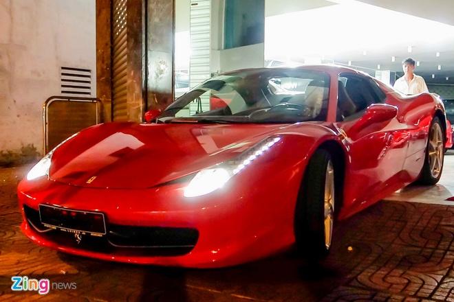 Sieu xe Ferrari 458 Spider dau tien tai Viet Nam hinh anh 6