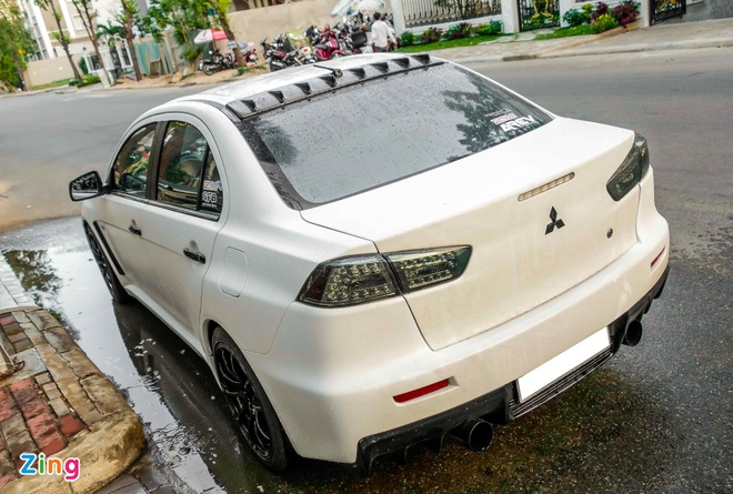 Chi tiet Mitsubishi Evo do 900 ma luc cua Cuong 'dola' hinh anh 4