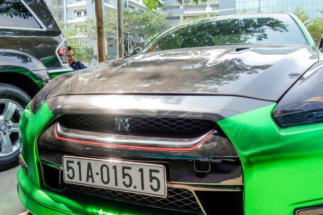 Xe the thao Nissan GT-R mau la o Sai Gon hinh anh 6
