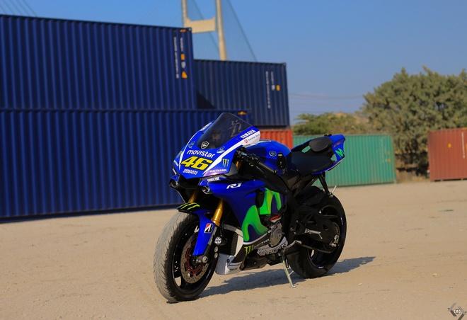 Sieu moto Yamaha R1 do Movistar o Sai Gon hinh anh 2