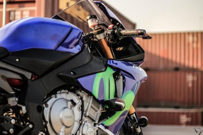Sieu moto Yamaha R1 do Movistar o Sai Gon hinh anh 6