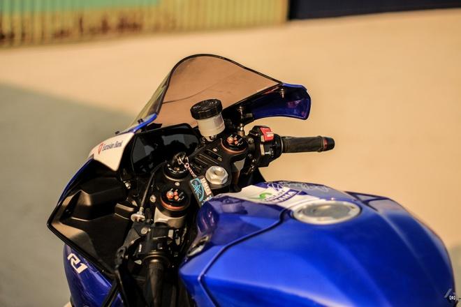 Sieu moto Yamaha R1 do Movistar o Sai Gon hinh anh 5