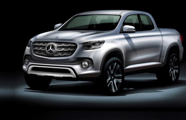 Mau xe ban tai cua Mercedes-Benz mang ten X-Class? hinh anh