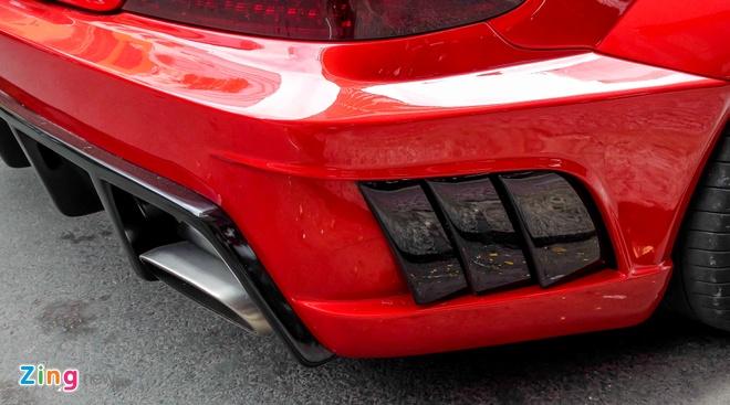Mercedes SL 55 AMG do than rong o Sai Gon hinh anh 10