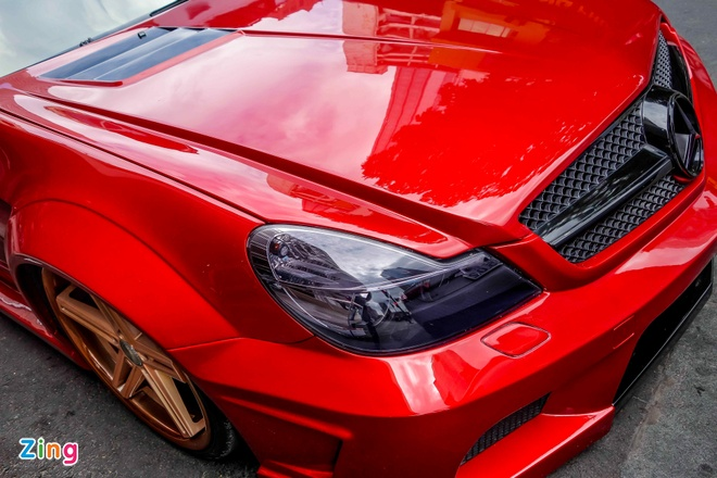 Mercedes SL 55 AMG do than rong o Sai Gon hinh anh 8
