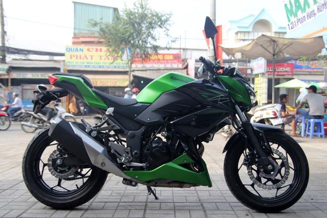 Kawasaki Z300 ve Viet Nam gia 149 trieu dong hinh anh