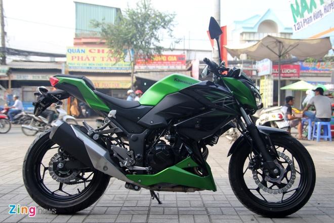 Kawasaki Z300 ve Viet Nam gia 149 trieu dong hinh anh 1