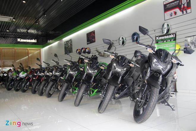 Kawasaki Z300 ve Viet Nam gia 149 trieu dong hinh anh 11