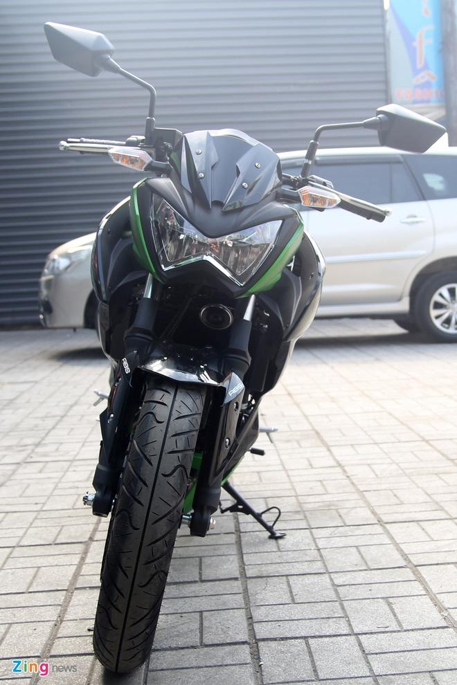 Kawasaki Z300 ve Viet Nam gia 149 trieu dong hinh anh 2