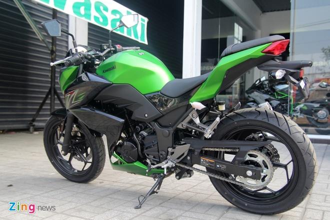Kawasaki Z300 ve Viet Nam gia 149 trieu dong hinh anh 3
