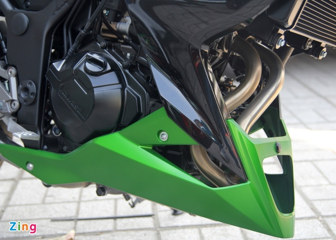 Kawasaki Z300 ve Viet Nam gia 149 trieu dong hinh anh 6