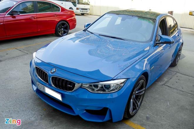 BMW M3 doi moi dau tien ra bien so o TP HCM hinh anh 1
