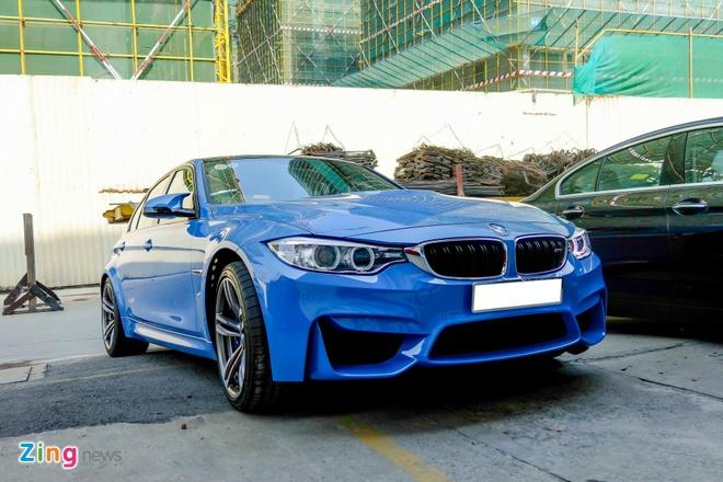BMW M3 doi moi dau tien ra bien so o TP HCM hinh anh 4