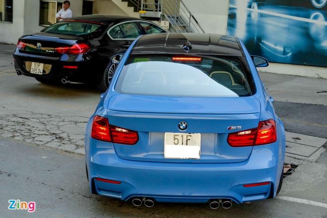 BMW M3 doi moi dau tien ra bien so o TP HCM hinh anh 5