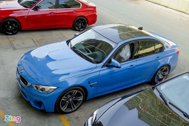 BMW M3 doi moi dau tien ra bien so o TP HCM hinh anh 6