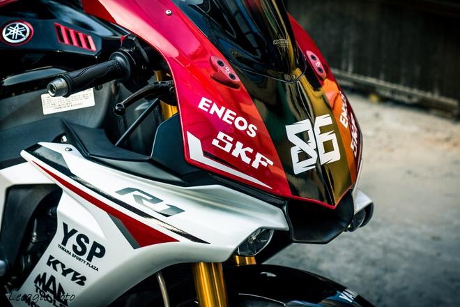 Yamaha R1 do tem va do choi cua biker Sai thanh hinh anh 5