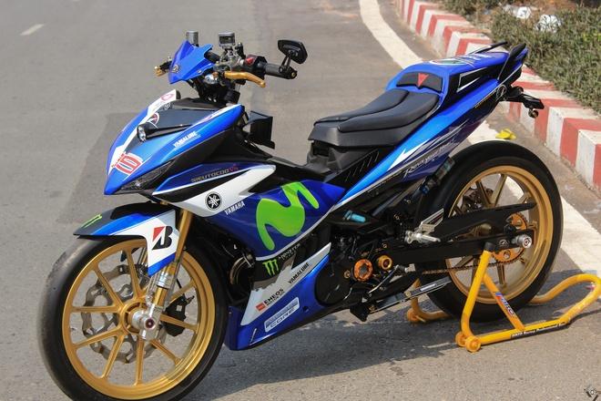 Exciter do phong cach xe dua M1 cua biker Sai Gon hinh anh