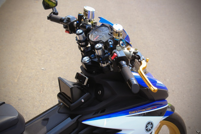 Exciter do phong cach xe dua M1 cua biker Sai Gon hinh anh 6