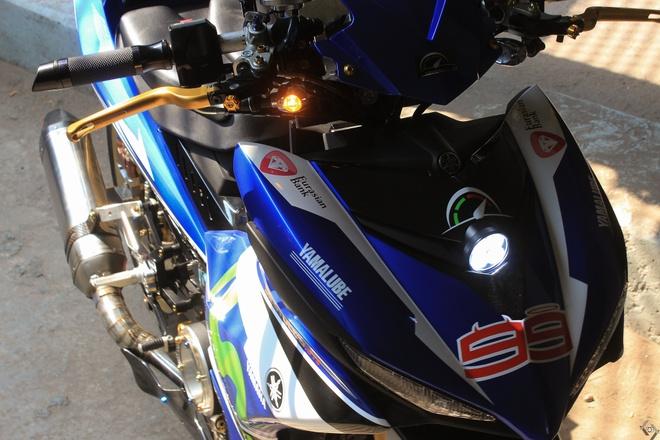 Exciter do phong cach xe dua M1 cua biker Sai Gon hinh anh 9
