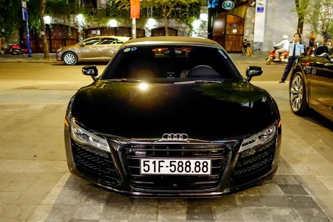 Sieu xe Audi R8 Spyder duy nhat tai xuat o Sai Gon hinh anh 1