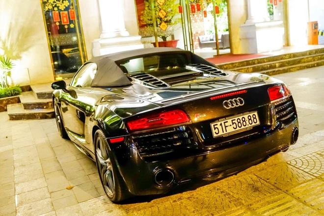 Sieu xe Audi R8 Spyder duy nhat tai xuat o Sai Gon hinh anh