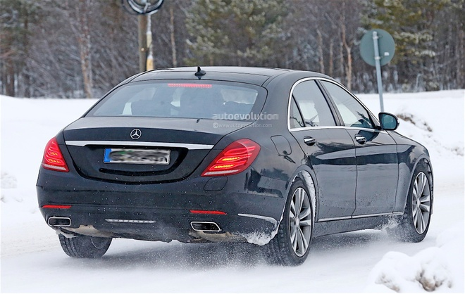 Mercedes-Benz S-Class phien ban 2018 lo anh hinh anh