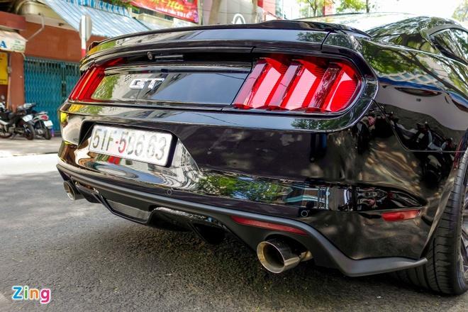 Ford Mustang GT do goi phu kien hang hieu o Sai Gon hinh anh 7